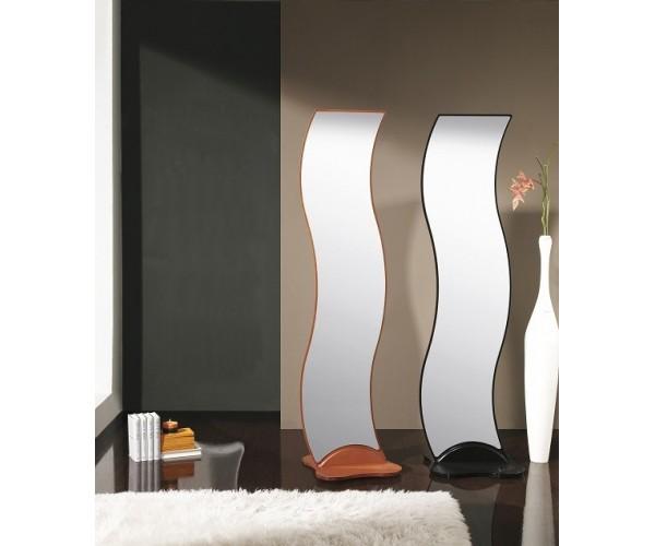 espejo moderno ondas con peana