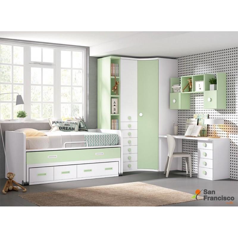 Comprar dormitorios juveniles a medida baratos muebles for Precio dormitorio completo