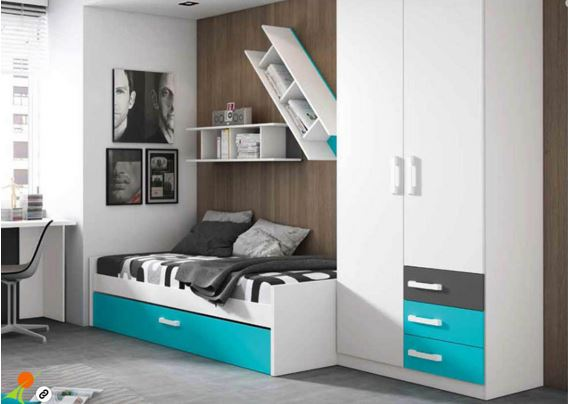 Habitacion juvenil moderna best juveniles fotoss - Dormitorios juveniles mallorca ...