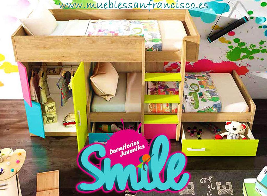 """CATÁLOGO """"SMILE"""" de Dormitorios Juveniles."""