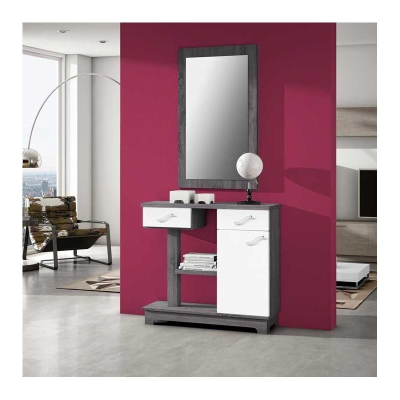 Comprar recibidores baratos y entradas baratas muebles for Muebles aseo baratos
