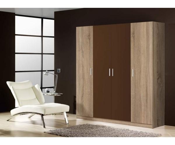 Armario diseño moderno económico 200cm puertas abatibles
