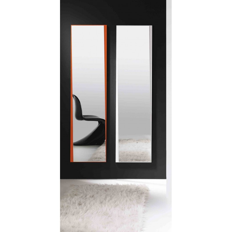 Espejo de dise o espejo naranja espejo blanco espejo moderno - Espejo salon moderno ...