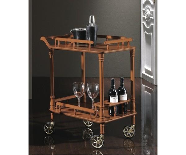 Carro bar estilo tradicional - camarera clásica
