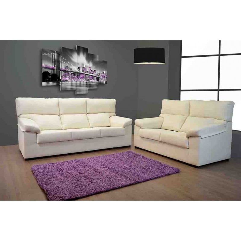Sofa 2 plazas 150cm sofa 3 plazas 2metros sofas 3 y 2 for Sofas grandes baratos
