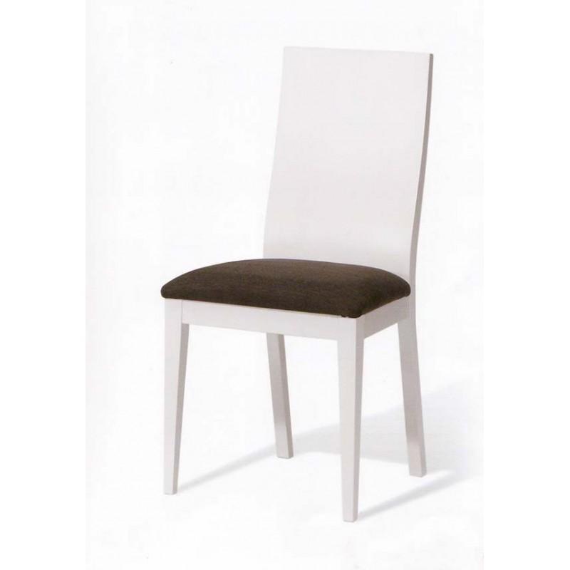 sfdan silla de comedor respaldo madera vista frontal