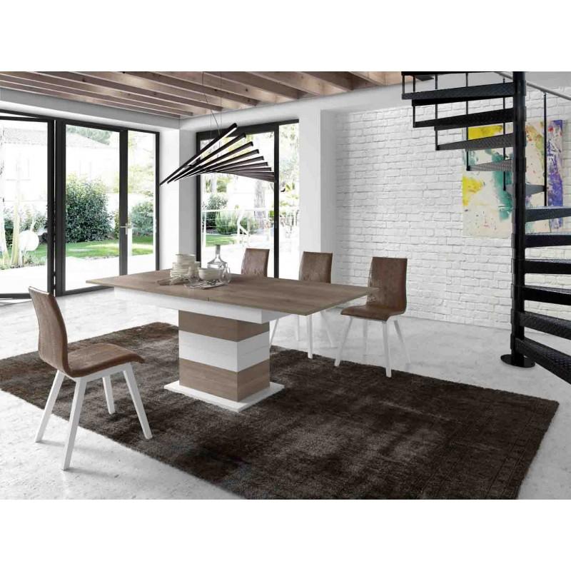 Mesa de comedor 140x90 extensible y moderna,mesa de comedor de diseño