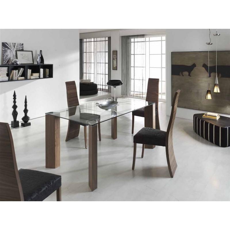mesas de cristal 180x100cm,mesa de comedor de cristal de diseño