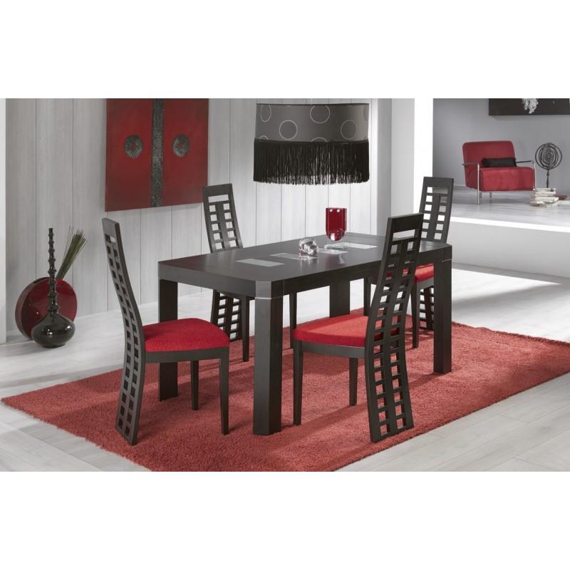 Mesa de comedor 135x90cm de dise o mesa extensible de for Sillas diseno madrid