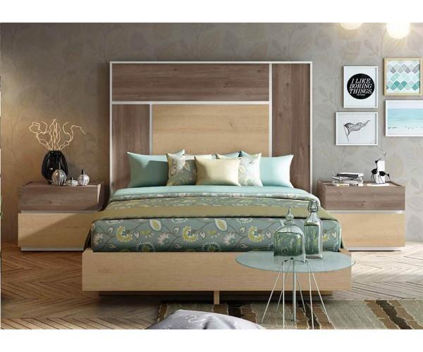Dormitorio matrimonio diseño actual de 250cm