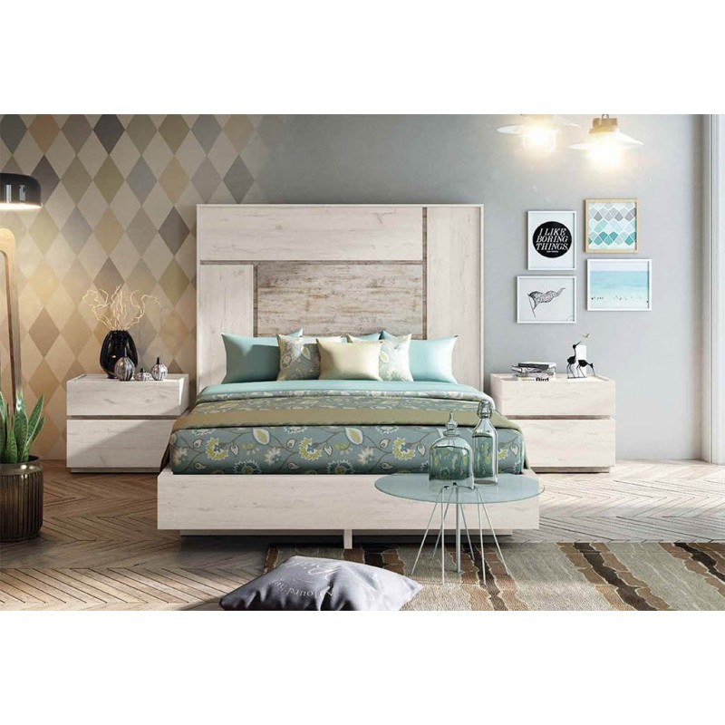 dormitorio de matrimonio econmico de 250cm Muebles San Francisco