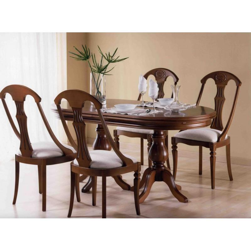 Mesa de comedor Ovalada clásica