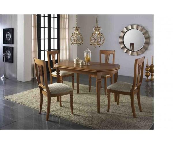 Mesa de comedor clásica 150x85cm
