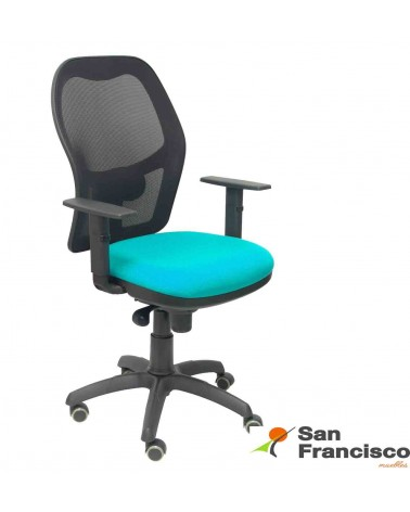 Silla oficina ergonómica-malla transpirable