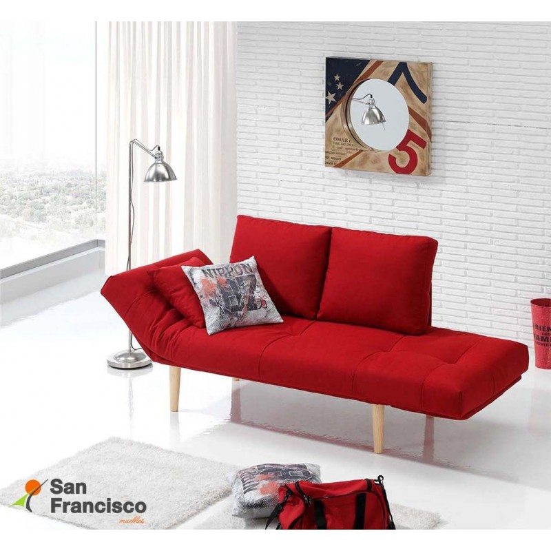 Sofa cama barato sof cama gris barato outlet de muebles for Sillones baratos madrid
