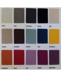 Carta de colores tapicería UNIC