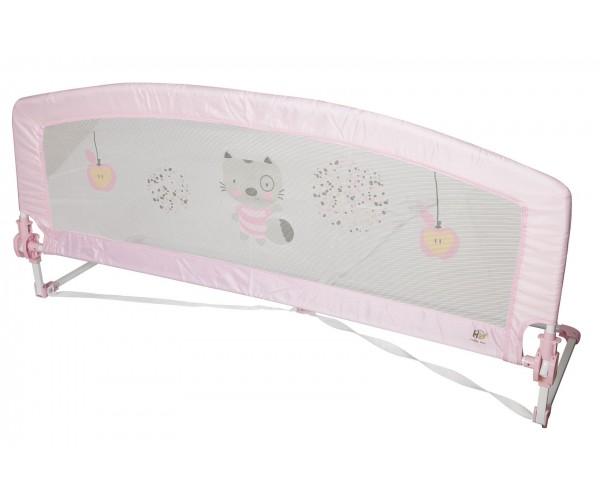 Barrera de cama  150 cm Baby rosa