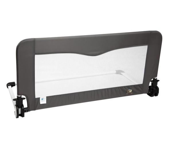 Barrera de cama pequeña 90 cm Gris