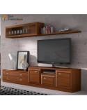 Apilable salón diseño actual 275cm económico. Alta calidad. Mínimo precio. Acabado color Nogal.