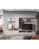 Apilable salón diseño moderno económico 302cm. Acabado colores shamal y vintage.
