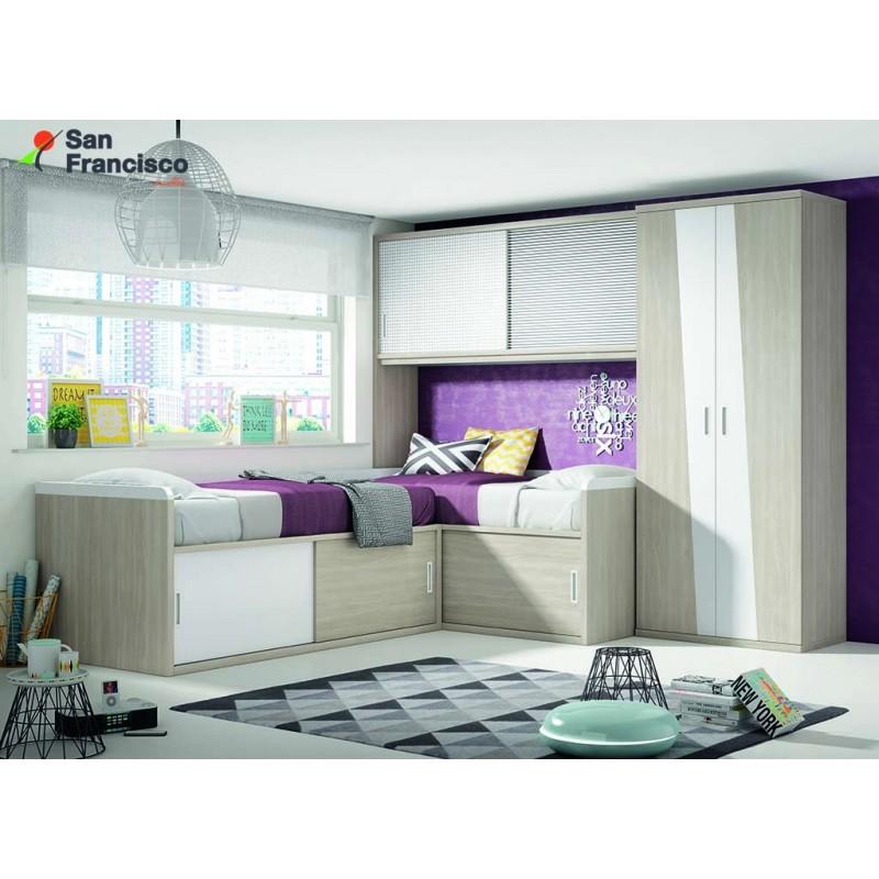 nuevo dormitorio juvenil a medida premium alta calidad mxima capacidad diseo de vanguardia