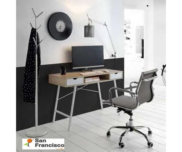 Mesa de estudio Moderna de 120cm Cambrian-Blanco