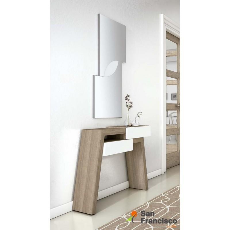 Comprar recibidores baratos modernos madrid muebles san - Mueble recibidor moderno ...