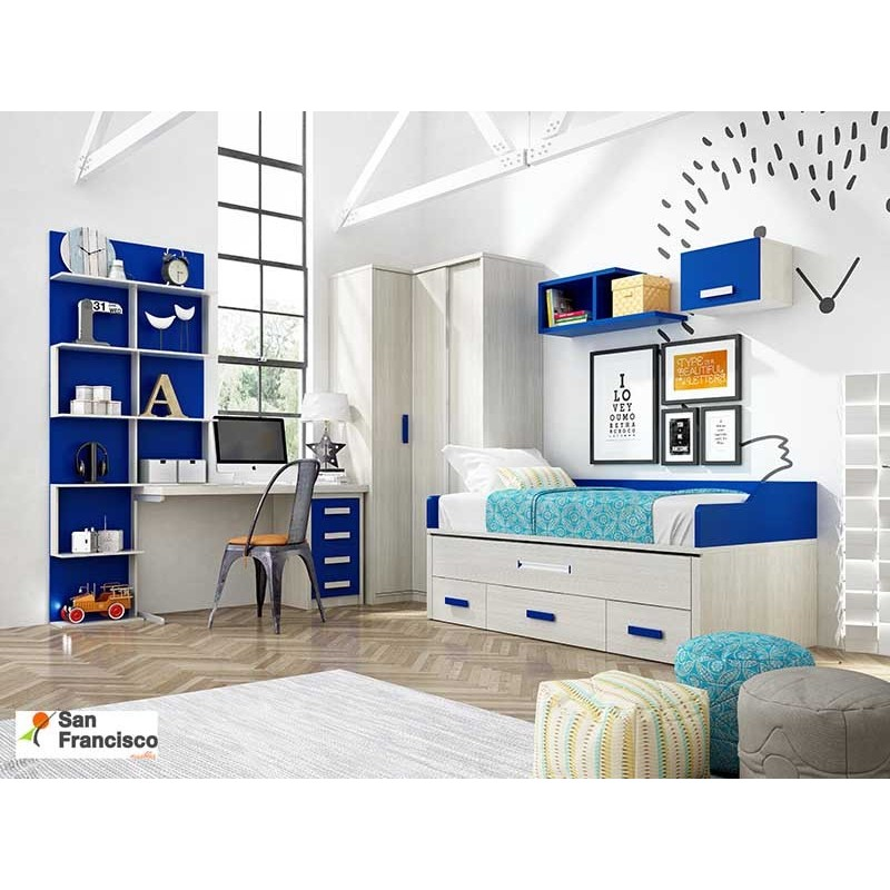 Comprar dormitorio juvenil a medida de buena calidad for Dormitorios juveniles a medida