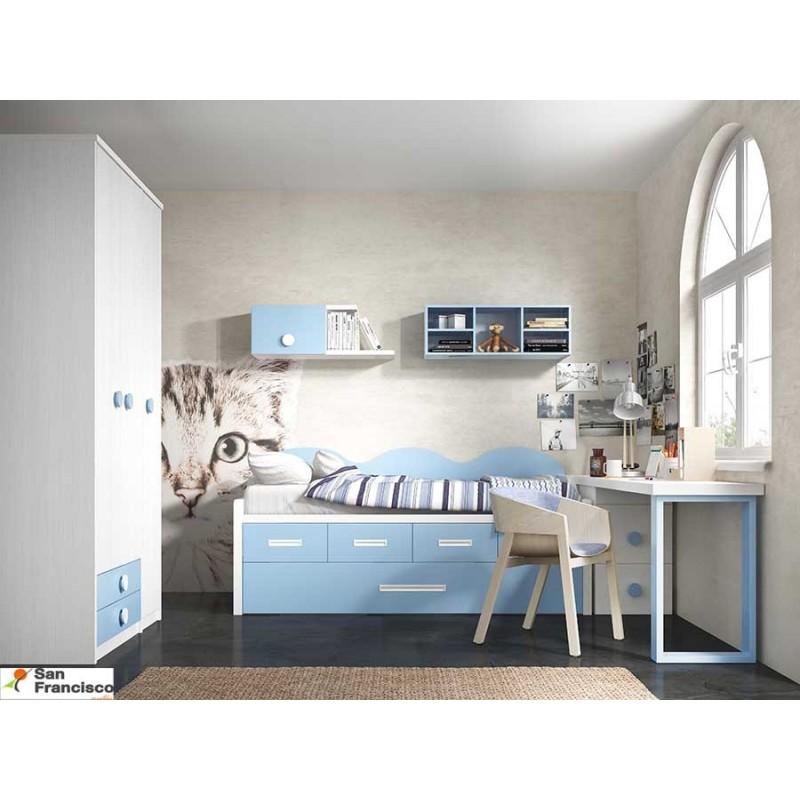 Comprar dormitorio juvenil a medida dormitorio juvenil - Mesas de dormitorio ...