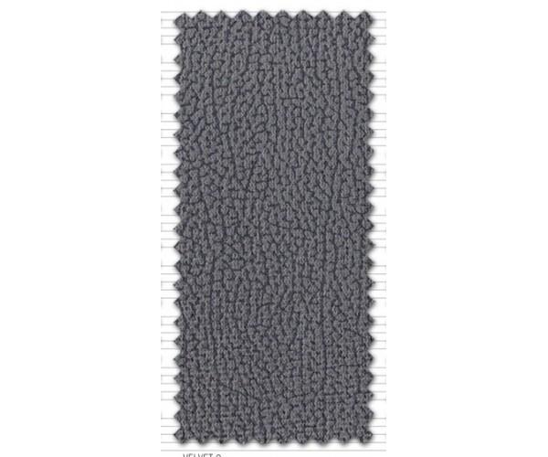 Sofá 3 plazas barato 200cm. reclinable y extensible tapizado microfibra Velvet 9 Gris