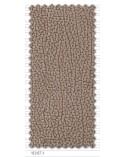 Chaiselongue 275 cm. reclinable y extensible con 4 taburetes y puf arcón tapizado microfibra Beige.
