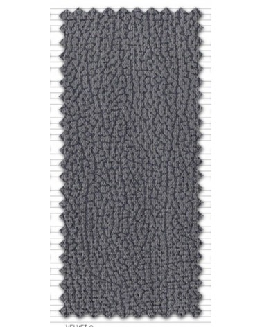 Sofá chaise longue reclinable y extensible con puf arcón independiente y 4 taburetes tapizado microfibra Gris.
