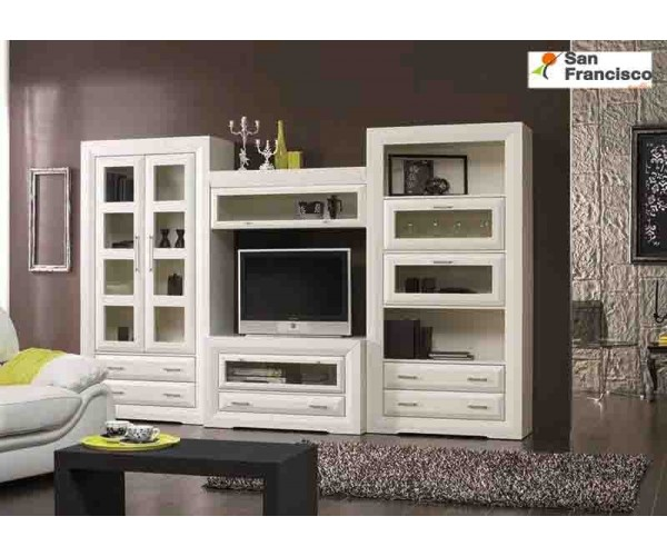 Apilable salón 320cm madera lacada