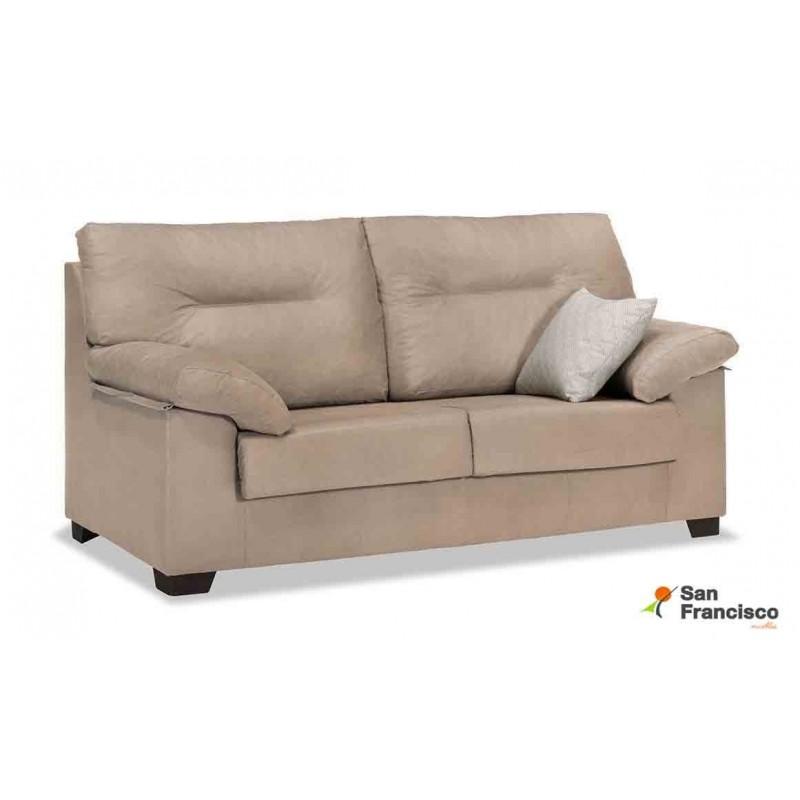 Comprar sof 3 plazas barato tapizado muebles san francisco for Medidas sofa 3 plazas