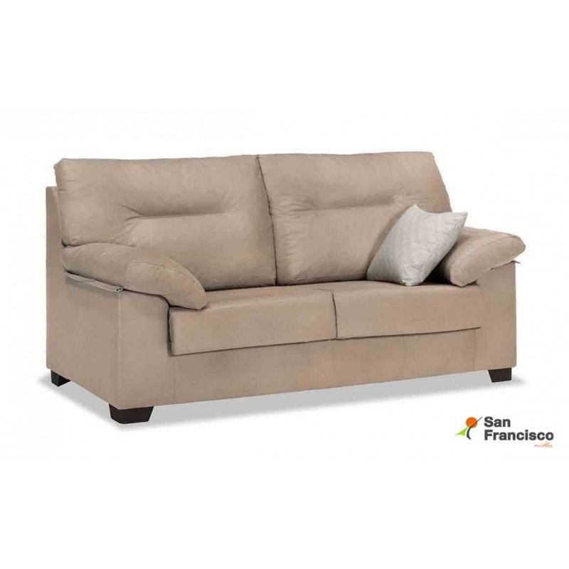 Comprar sof 3 plazas barato tapizado muebles san francisco - Medidas sofa 3 plazas ...