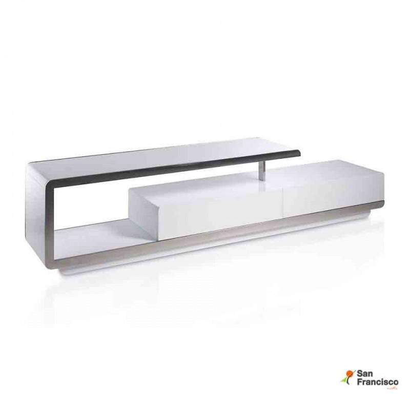 Comprar mueble para televisi n de 2 metros comprar for Mueble tv lacado blanco