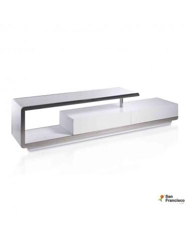 Mueble de Tv de 2 metros Lacado Blanco