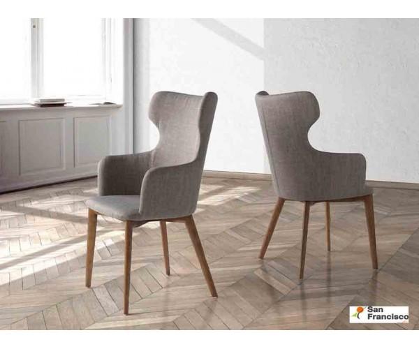 Silla respaldo alto de diseño Italiano