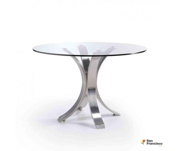 Mesa de comedor 120 cm de Cristal