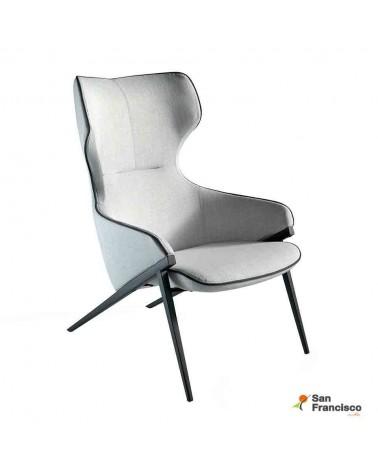 Sillón tapizado de Diseño