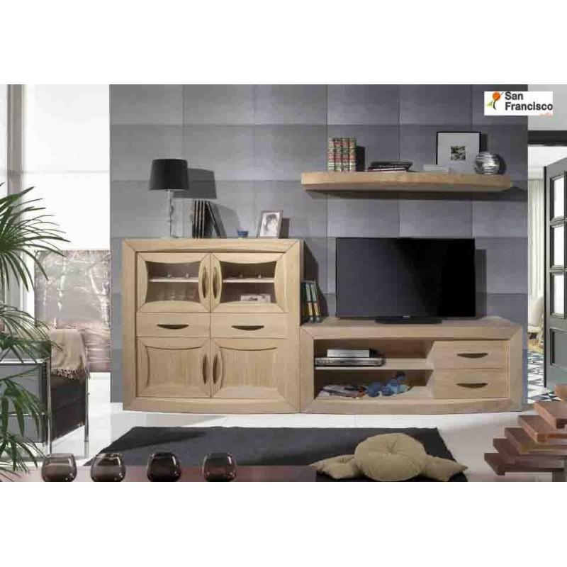 Mueble Rústico Moderno de 270cm