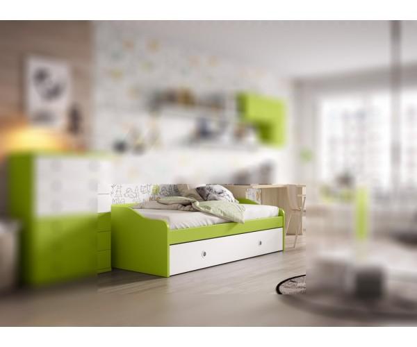 Cama nido juvenil 2 camas económica alta calidad