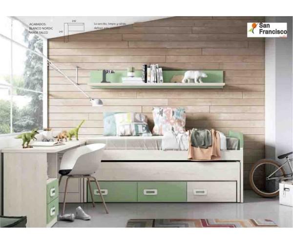 Dormitorio Juvenil Moderno y Actual