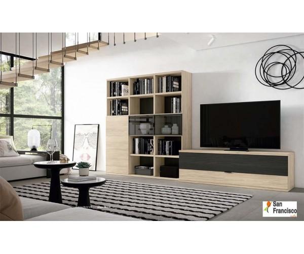 Mueble de Salón Moderno 330cm. Novedad