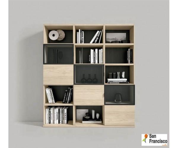 Librería Moderna de 165cm