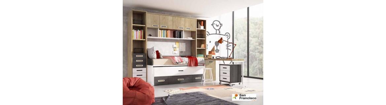 comprar dormitorio infantil a medida - comprar mueble juvenil a medida