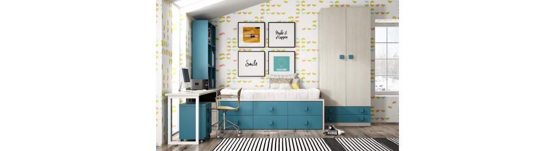 Muebles para dormitorios juveniles de diseño - Mobiliario exclusivo
