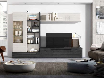 Muebles con tonos oscuros son una buena elecci n for Muebles oscuros paredes claras