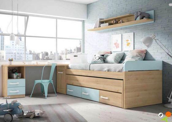 Cama nido juvenil con cajones fabulous camas juveniles con cajones with cama nido juvenil con - Fabricar cama nido ...