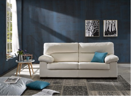 Qu color elegir para que tu sof no pase nunca de moda for Sofa blanco barato